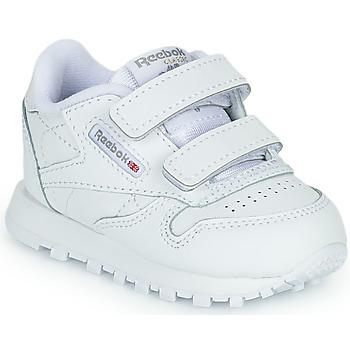 Sko Børn Lave sneakers Reebok Classic CL LTHR 2V Hvid