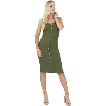 textil Dame Korte kjoler Brave Soul  Khaki