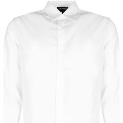 textil Herre Skjorter m. lange ærmer Les Hommes  Hvid