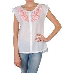 textil Dame Skjorter m. korte ærmer Antik Batik AYLA Hvid