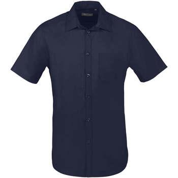 Skjorter m. korte ærme Sols  BRISTOL FIT Azul Oscuro