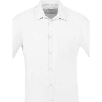 Skjorter m. korte ærme Sols  BRISTOL FIT Blanco