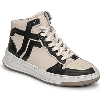 Sko Dame Høje sneakers Bronx OLD COSMO Hvid / Sort