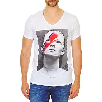 textil Herre T-shirts m. korte ærmer Eleven Paris KATOS Hvid