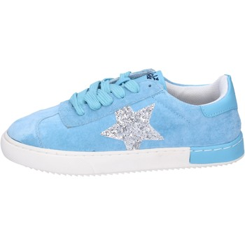 Sko Pige Lave sneakers Holalà BH09 Blå