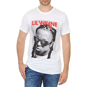 textil Herre T-shirts m. korte ærmer Eleven Paris APY M Hvid