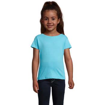 textil Pige T-shirts m. korte ærmer Sols CHERRY Azul Azul