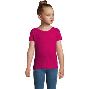 textil Pige T-shirts m. korte ærmer Sols CHERRY Fucsia Burdeo