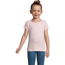 textil Pige T-shirts m. korte ærmer Sols CHERRY Rosa Rosa