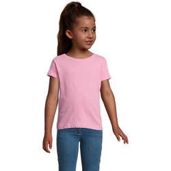 textil Pige T-shirts m. korte ærmer Sols CHERRY Rosa Orqudea Rosa