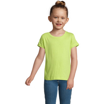 textil Pige T-shirts m. korte ærmer Sols CHERRY Verde Manzana Verde