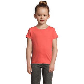 textil Pige T-shirts m. korte ærmer Sols CHERRY Coral Otros