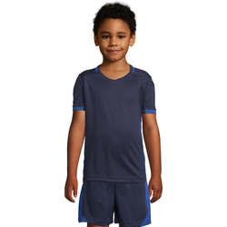 textil Børn T-shirts m. korte ærmer Sols CLASSICOKIDS Marino Azul Azul