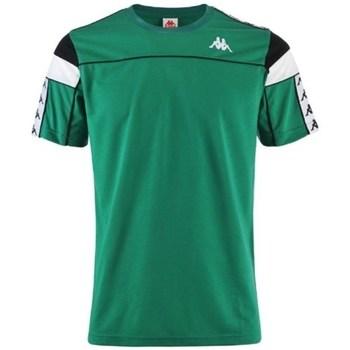textil Herre T-shirts m. korte ærmer Kappa Banda Arar Grøn