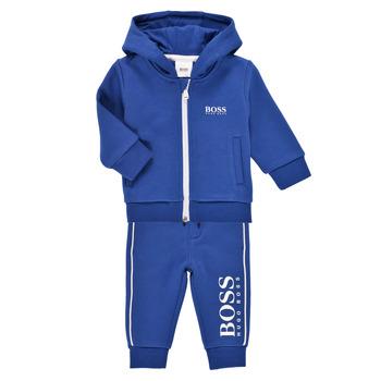 textil Dreng Træningsdragter BOSS KAMITA Blå