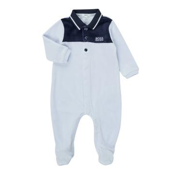 textil Dreng Pyjamas / Natskjorte BOSS FILOMENA Blå