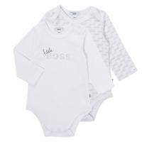 textil Dreng Pyjamas / Natskjorte BOSS SEPTINA Hvid