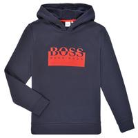 textil Dreng Sweatshirts BOSS MARKE Marineblå