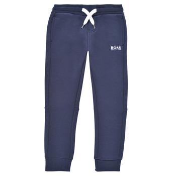 textil Dreng Træningsbukser BOSS PATELIN Marineblå