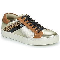 Sko Dame Lave sneakers Betty London PITINETTE Guld