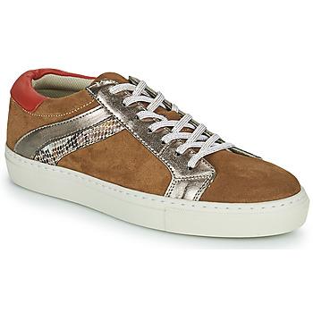 Sko Dame Lave sneakers Betty London PITINETTE Cognac