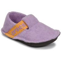 Sko Pige Tøfler Crocs CLASSIC SLIPPER K Violet / Gul