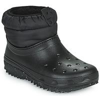 Sko Dame Vinterstøvler Crocs CLASSIC NEO PUFF SHORTY BOOT W Sort