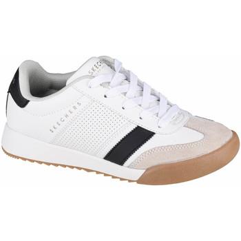 Sko Børn Lave sneakers Skechers Zinger Hvid