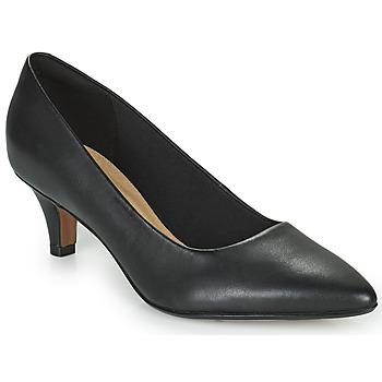 Sko Dame Højhælede sko Clarks LINVALE JERICA Sort