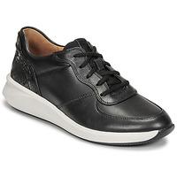 Sko Dame Lave sneakers Clarks UN RIO SPRINT Sort