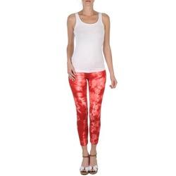 textil Dame Halvlange bukser Eleven Paris DAISY Rød / Hvid