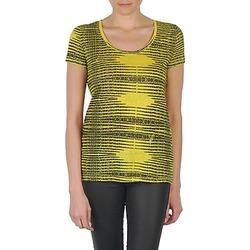 textil Dame T-shirts m. korte ærmer Eleven Paris DARDOOT Gul