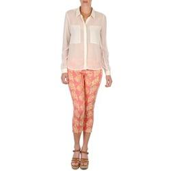 textil Dame Halvlange bukser Manoush PANTALON GIPSY JEANS Pink