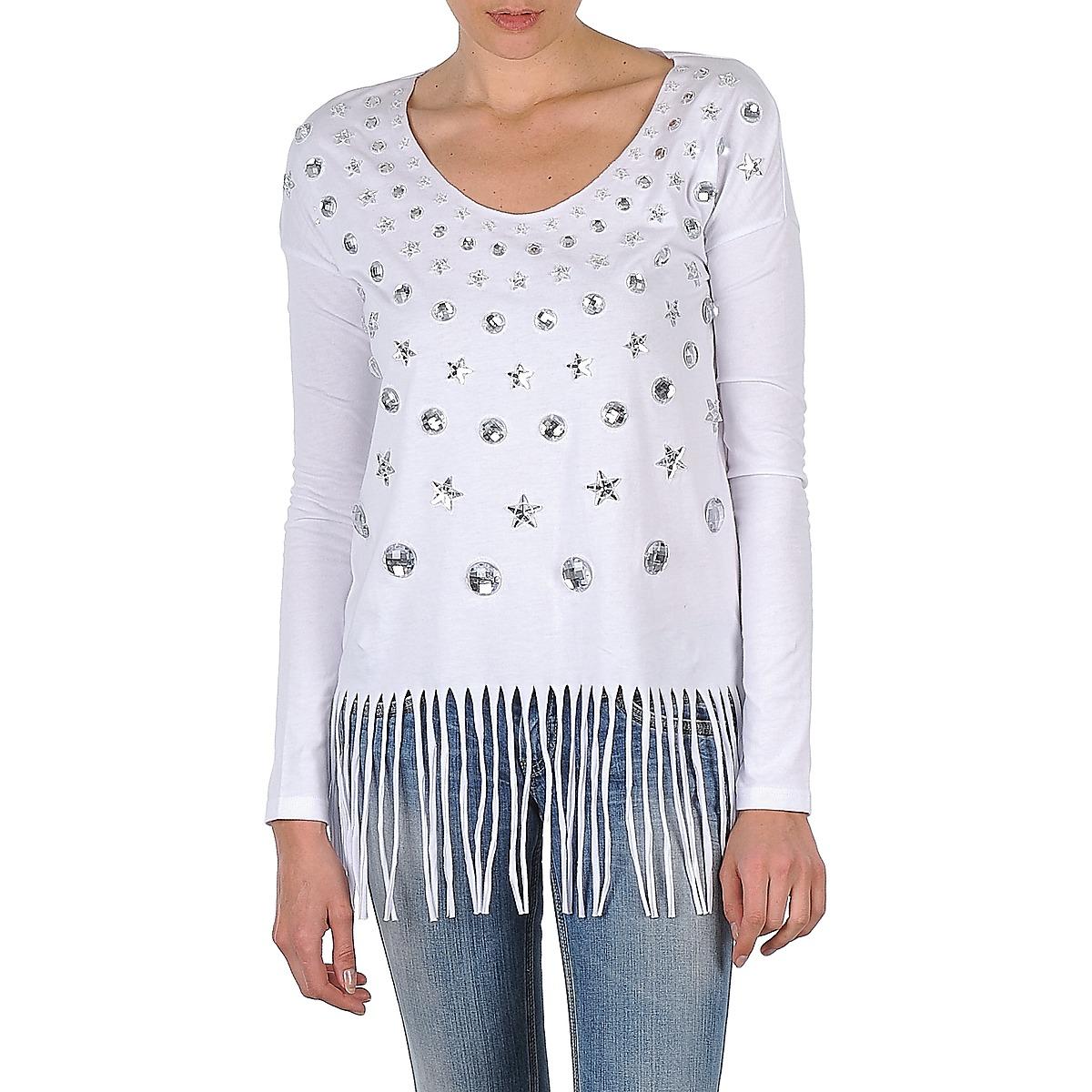 Langærmede T-shirts Manoush  TUNIQUE LIANE
