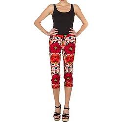 textil Dame Halvlange bukser Manoush PANTALON POPPY Rød