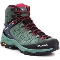 Sko Dame Vandresko Salewa WS Alp Trainer 2 Mid GTX 61383-5085 olive green