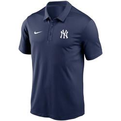 textil Herre Polo-t-shirts m. korte ærmer Nike Polo Team Logo Franchise Performance New York Yankees bleu navy
