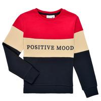textil Pige Sweatshirts Name it NKFLIBEL LS SWEAT Flerfarvet