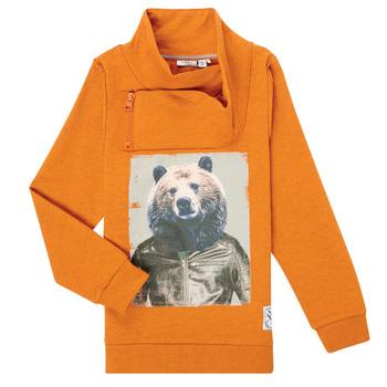 textil Dreng Sweatshirts Name it NKMKUVAU LS SWE Orange