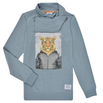 textil Dreng Sweatshirts Name it NKLKUVAU LS SWE Blå