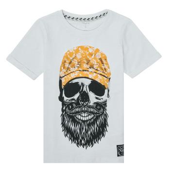 textil Dreng T-shirts m. korte ærmer Name it NKMKSOYTAN SS TOP Hvid