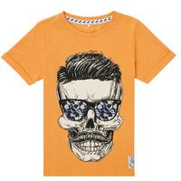 textil Dreng T-shirts m. korte ærmer Name it NKMKSOYTAN SS TOP Gul
