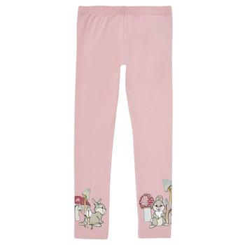 textil Pige Leggings Name it NMFTHUMPER ENGLA LEGGINGS Violet