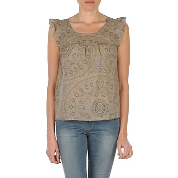 textil Dame Toppe / T-shirts uden ærmer Bensimon SADIE MULDVARPEGRÅ