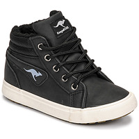 Sko Dreng Høje sneakers Kangaroos KAVU I Sort