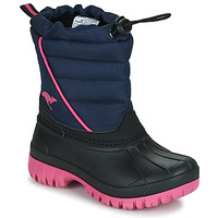 Sko Pige Vinterstøvler Kangaroos K-BEN Blå / Pink