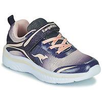 Sko Pige Lave sneakers Kangaroos K-MAID GLEAM EV Blå / Sølv