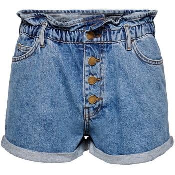 Shorts Only  Short en jeans femme  Cuba life paperbag