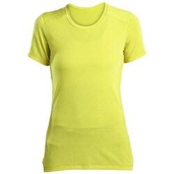 textil Dame T-shirts m. korte ærmer Saucony SAW800023 Gul