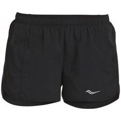 textil Dame Shorts Saucony SAW800086BK Sort